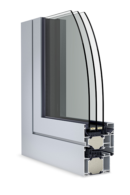 roh hliníkové okno W77HI