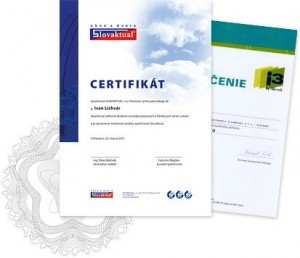 Certifikovaná montáž = jistota kvality