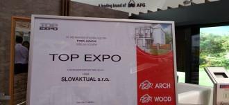 SLOVAKTUAL oceněn na veletrhu FOR ARCH Praha 2014