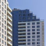 Okna ve věžích CityPark Ružinov
