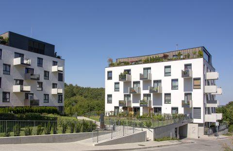 Komplex Záhradné vily s oknami Slovaktual PASIV