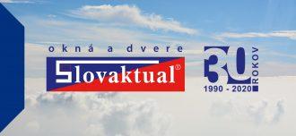 Slovaktual žije okny. Už 30 let.